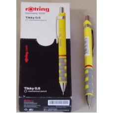 Ceruza (0,5 Rotring Tikky III Sárga) 12db/doboz
