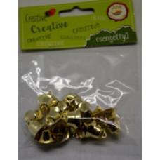 Csengettyű 16mm Arany 20db/csomag