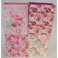 Dísztasak Flamingo 18*23*8cm 12db/csomag