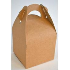 Díszdoboz Natúr Papírfogóval 9*15*9cm 12db/csomag