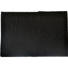 Dekorgumi A/4 Frottír Fekete 2mm 10db/csomag