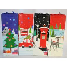 Dísztasak Karácsonyi Mese 36*12*8,5cm 12db/csomag