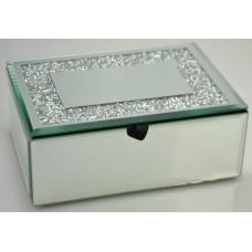 Ékszer Doboz Diamond Tükör16*12*6,5cm