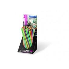 Ceruza (Grafit, Staedtler Wopex Hb Neon) 72db/doboz