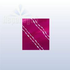 Celofán Tasak Asparagus Metál 25*35 Metál Ciklámen Ferdesáv 50db/csomag