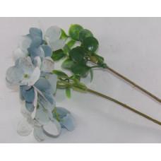 Szárazvirág Dekoráció 0190 Mini Hortenzia Kék