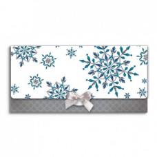 Boríték (La/4 Argus Karácsonyi Masnival) Kék-Fehér 6001 6db/csomag
