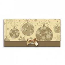 Boríték (La/4 Argus Karácsonyi Masnival) Arany-Barna 6004 6db/csomag