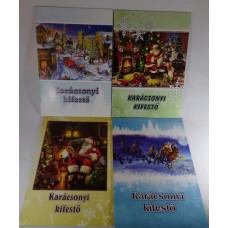 Kifestő (A/4 Rajzfüzet Boani Karácsonyi) 8db/csomag