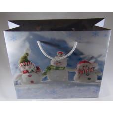 Dísztasak BU Karácsonyi 22*20cm 20-09 T3 5db/csomag
