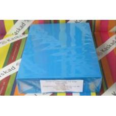 Névjegykarton (A/4 Kaskad 160g 078 Király Kék) 50 ív/csomag