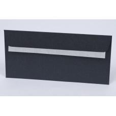 Boríték (La/4 Színes Curios Metál 58 Ébenfekete) 25db/csomag