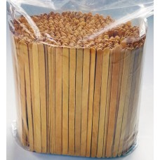Műanyag Kavarókanál Fa Hosszú Tea 500db/csomag