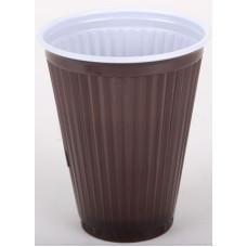 Műanyag Pohár 1,5 Autómata Barna 100db/csomag