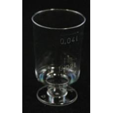 Műanyag Pohár (Snapsz 2cl-4cl Talpas) 20db/csomag