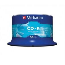 Cd-R Verbatim/50 700mb 52* Hengeres 50db/csomag