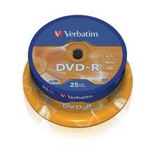 Dvd-R Verbatim/ 25db-Os Henger 4,7gb 16*