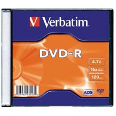 Dvd-R Verbatim 4,7gb 16* Vékony Tokos 10db/doboz