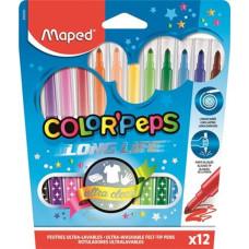 Filc (Maped/12 Color Peps Long Life Kimosható)