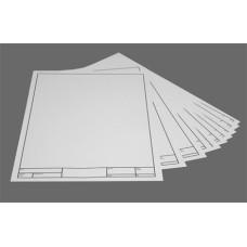 Műszaki Rajzlap (A/4, Keretes) 200 ív/csomag