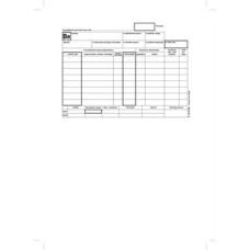 B.12-111/V Készletbevételezési Bizonylat 25*4 Victoria