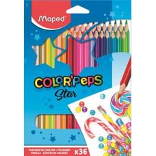 Ceruza (Színes Maped/36 Color Peps Háromszög)