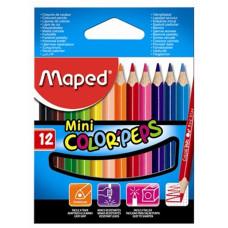 Ceruza (Színes Maped/12 Color Peps Mini Háromszög)