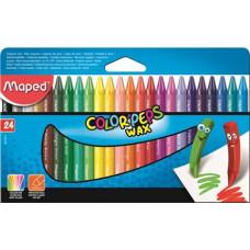 Zsírkréta (Maped Wax/24 Color Peps