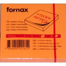 Jegyzet (Öntap Fornax 75*75/80 Neon Narancs)