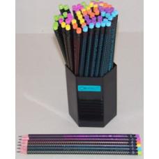 Ceruza (Grafit, Connect Pitagora Radíros Fekete Testű) 72db/csomag
