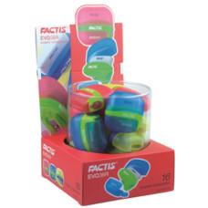 Radír (Factis Evo36r Radír+Hegyező) 16db/doboz