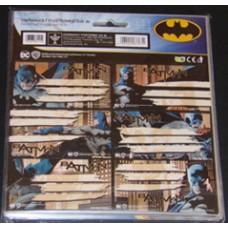 Füzetcimke (Ars Una 17 Batman 8115 18cimke/csomag)