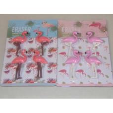 Radír (Flamingo/4db G19-38) 24csomag/doboz