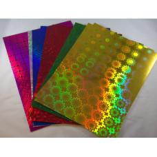 Dekor Karton Kreatív Hologramos 10 ív/csomag