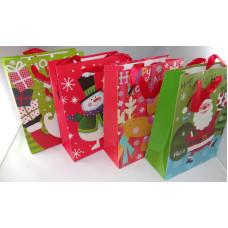 Dísztasak Karácsonyi GL J5-165 23,5*17,5*8cm 12db/csomag
