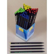 Ceruza (Grafit, Adél Mini Trio 1130 Fekete Fa) 72db/doboz