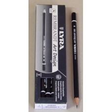 Ceruza (Grafit, Lyra Art Desing B ) 12db/csomag