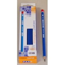 Ceruza (Grafit, Pax HB Hatszög) 12db/csomag