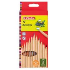 Ceruza (Színes Herlitz/12 Natúrfás) 6db/csomag