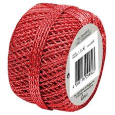 Díszkötöző Zsinór Herlitz 20 M Piros 10db/csomag