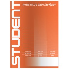 Füzet (A/5 31-32 Student Fonetikus Szótár) 20db/csomag