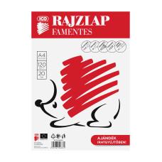 Rajzlap (A/4 Süni Famentes 20lap/Csomag)