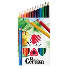 Ceruza (Színes Ico Süni Jumbo/12 Pitagora Festett) 12klt/doboz