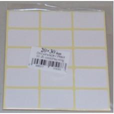 Etikett Cimke Öntapadós, 20*30 60db/csomag