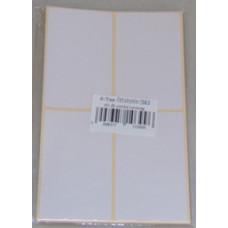 Etikett Cimke Öntapadós, 40*80 60db/csomag