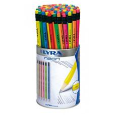 Ceruza (Grafit, Lyra HB Neon Radíros 96 Db/Doboz 1293960)