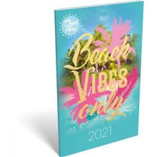 Naptár Zseb L-C Tűzött Good Vibes Beach vibes only