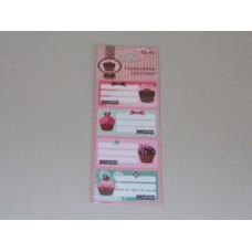 Füzetcimke (L-C 12db/Ív Candy Store Best)