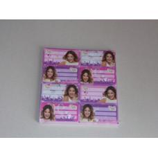 Füzetcimke (L-C 50 Ív/csomag Violetta Pink)