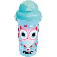 L-C Kulacs 500 Ml Lollipop Blue Owl